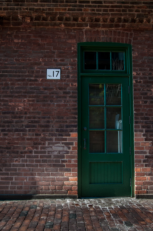 toronto distillery district door #17