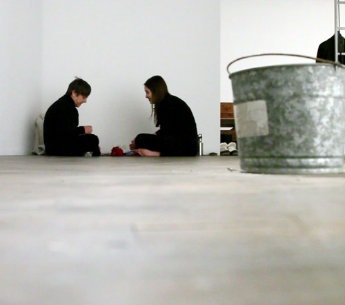 None-repair | allayed performance 2012, by Courtney Brown and Alison Starr @ 500X (Dallas, TX)