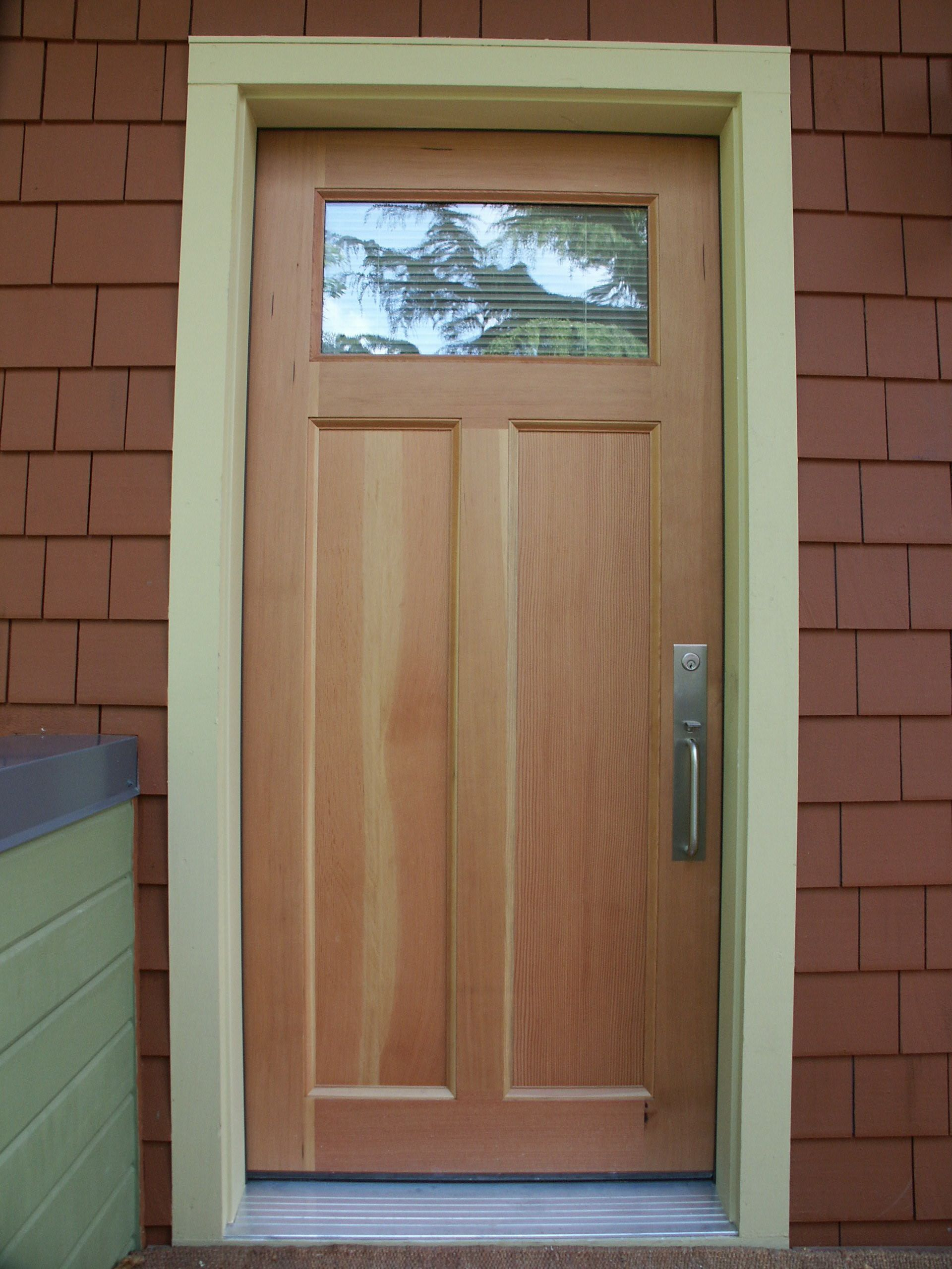 hand-crafted entry doors
