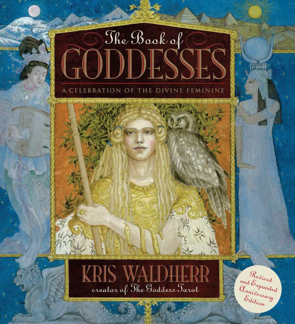Book of Goddesses Book - Cover