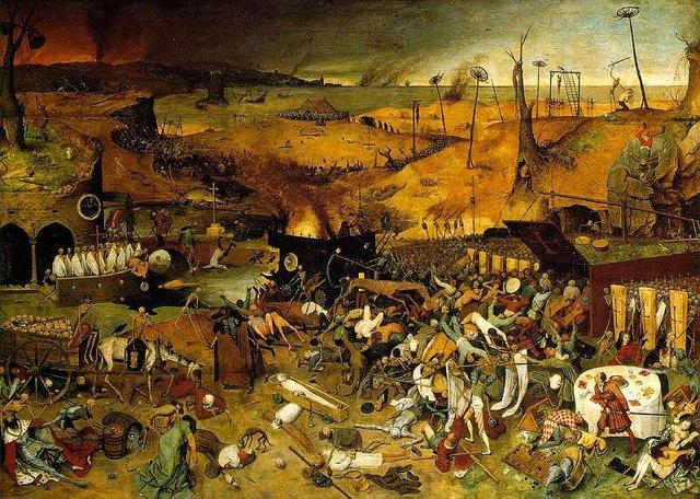 The Triumpth of Death  (c. 1562) byPieter Bruegel the Elder