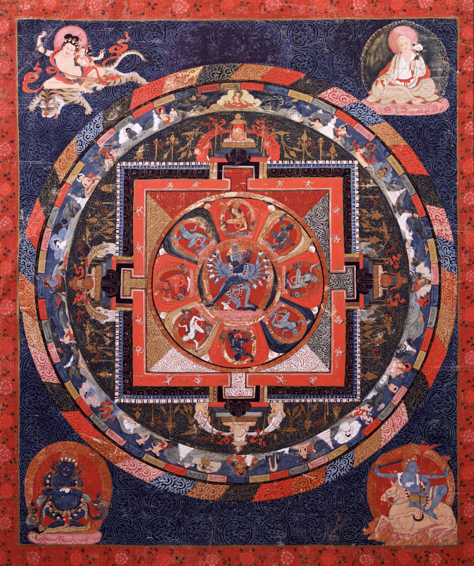 Havajra Mandala at the Rubin Museum of Art, New York City