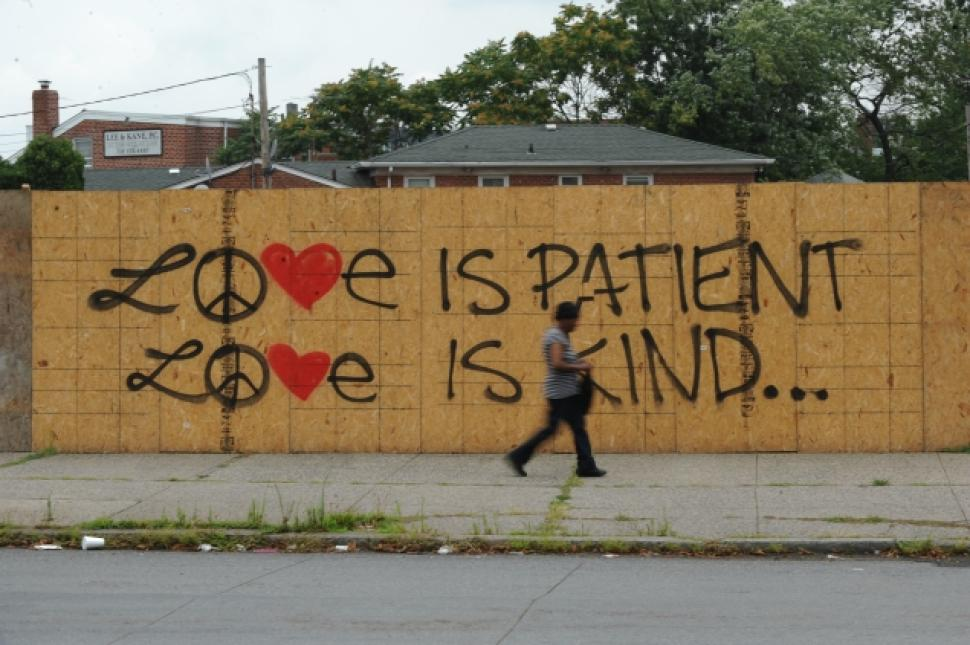 Love is Patient Love is Kind...