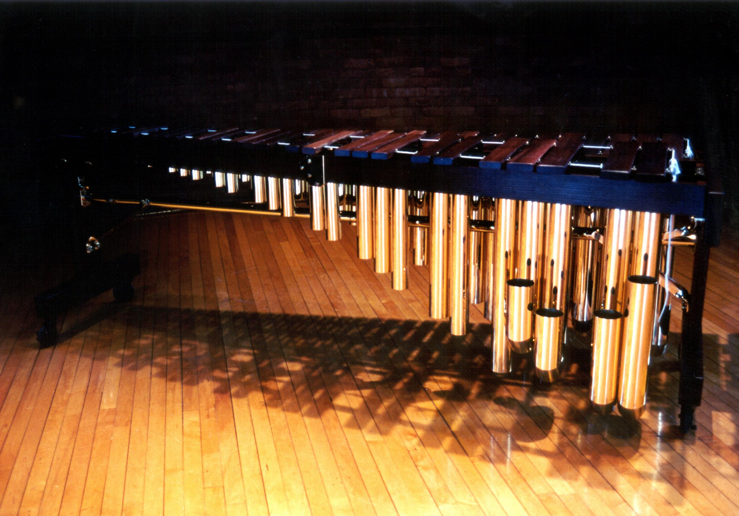 Robert Paterson's 5 Octave Marimba by Douglas DeMorrow.