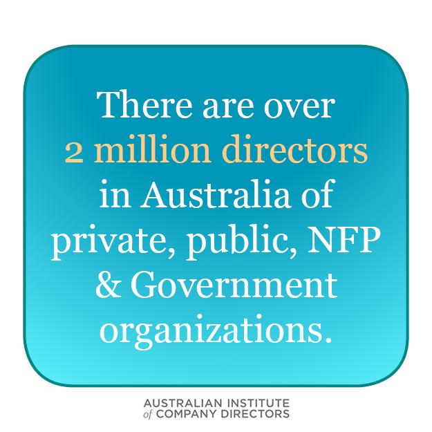 2 million directors in australia