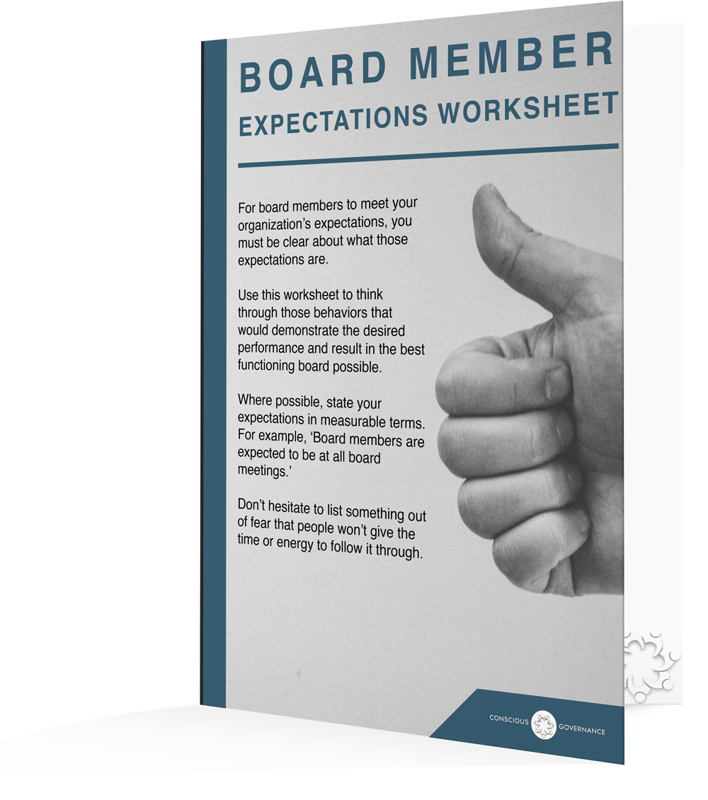 Board Expectations Worksheet