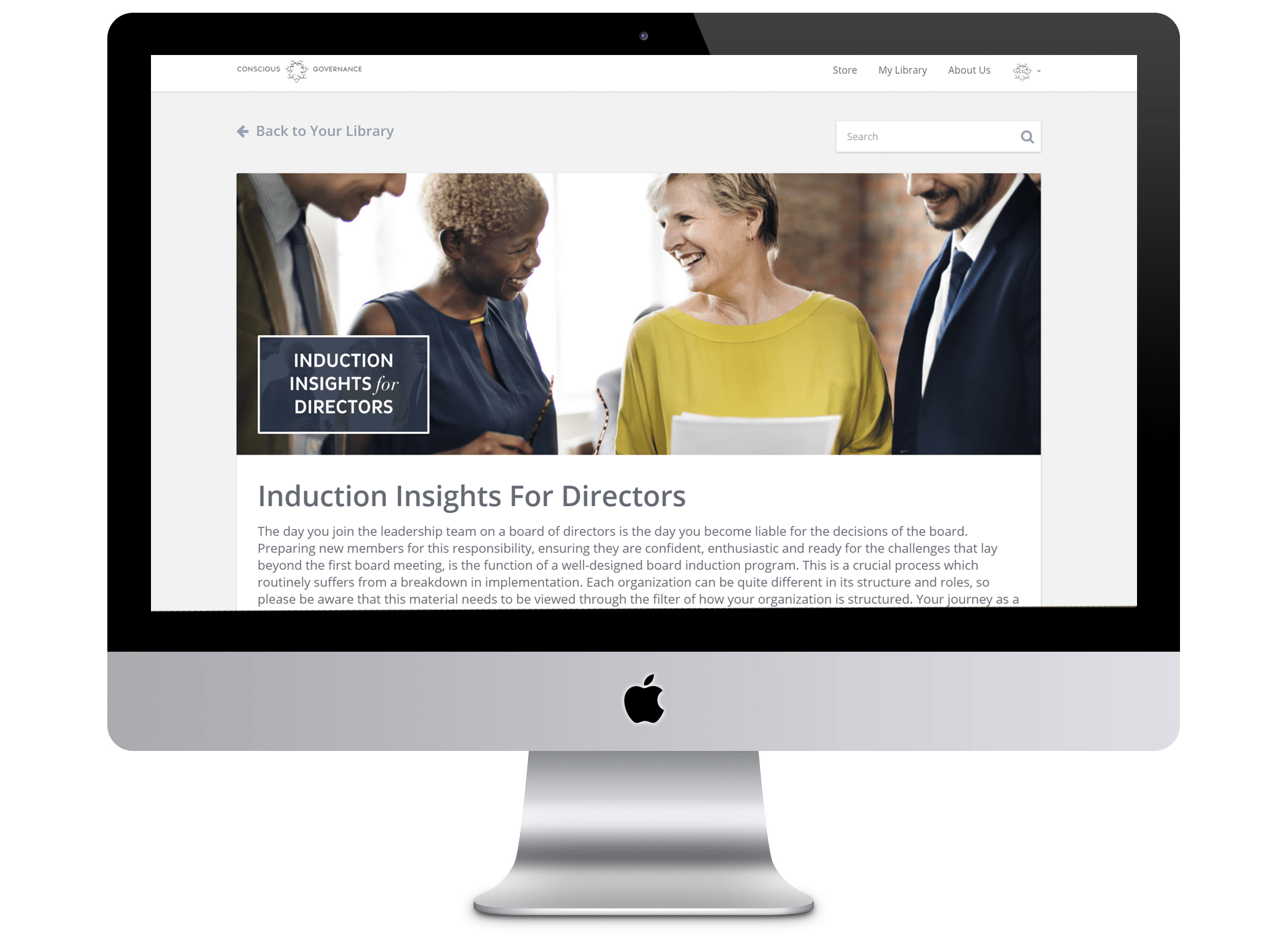 Induction insights for directors