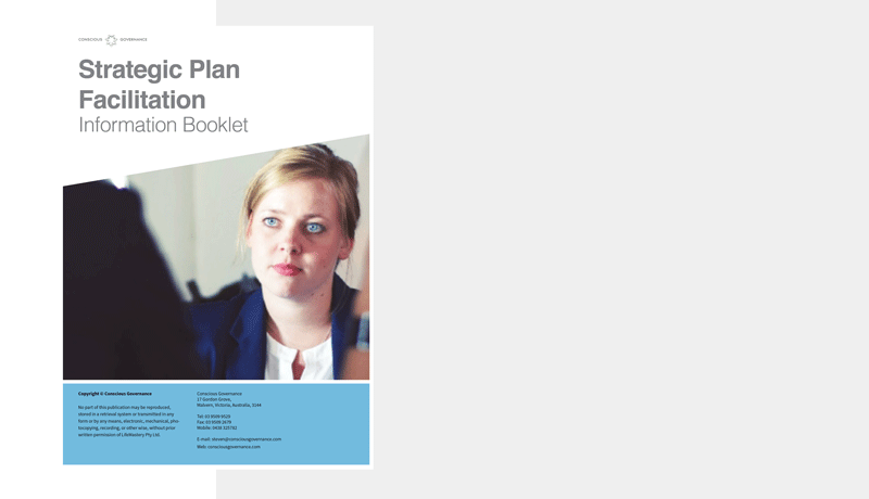 Download an information booklet - Explore the process we use in conducting effective strategic plan facilitations and get to know our facilitators.
