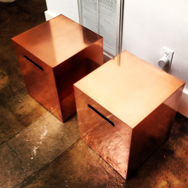 Copper End Tables