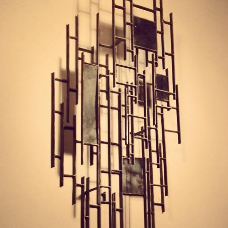 Vertical Landscape Wall Sculpture