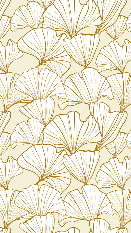 Gingko Leaves Cream