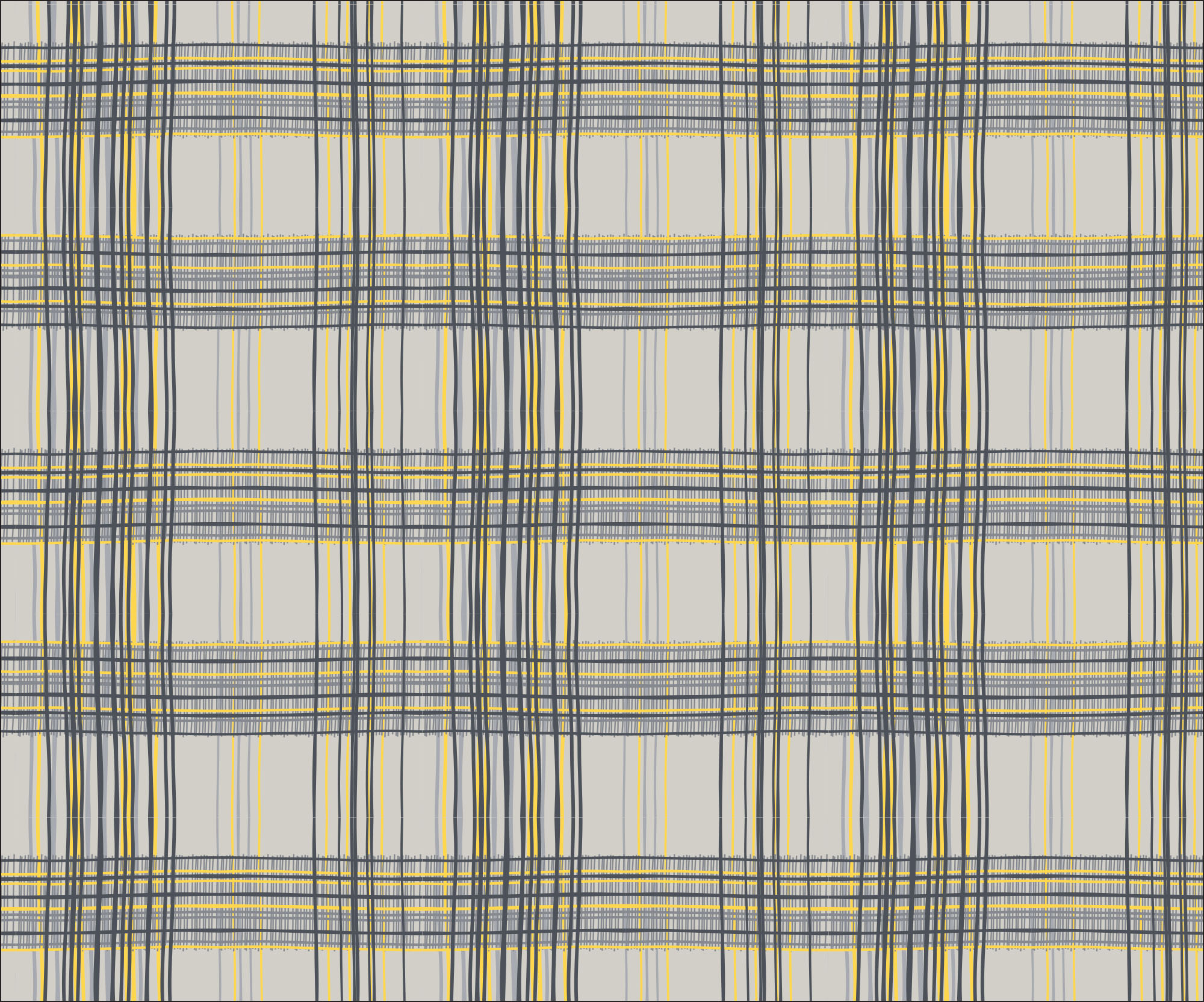 Hand Drawn Plaid