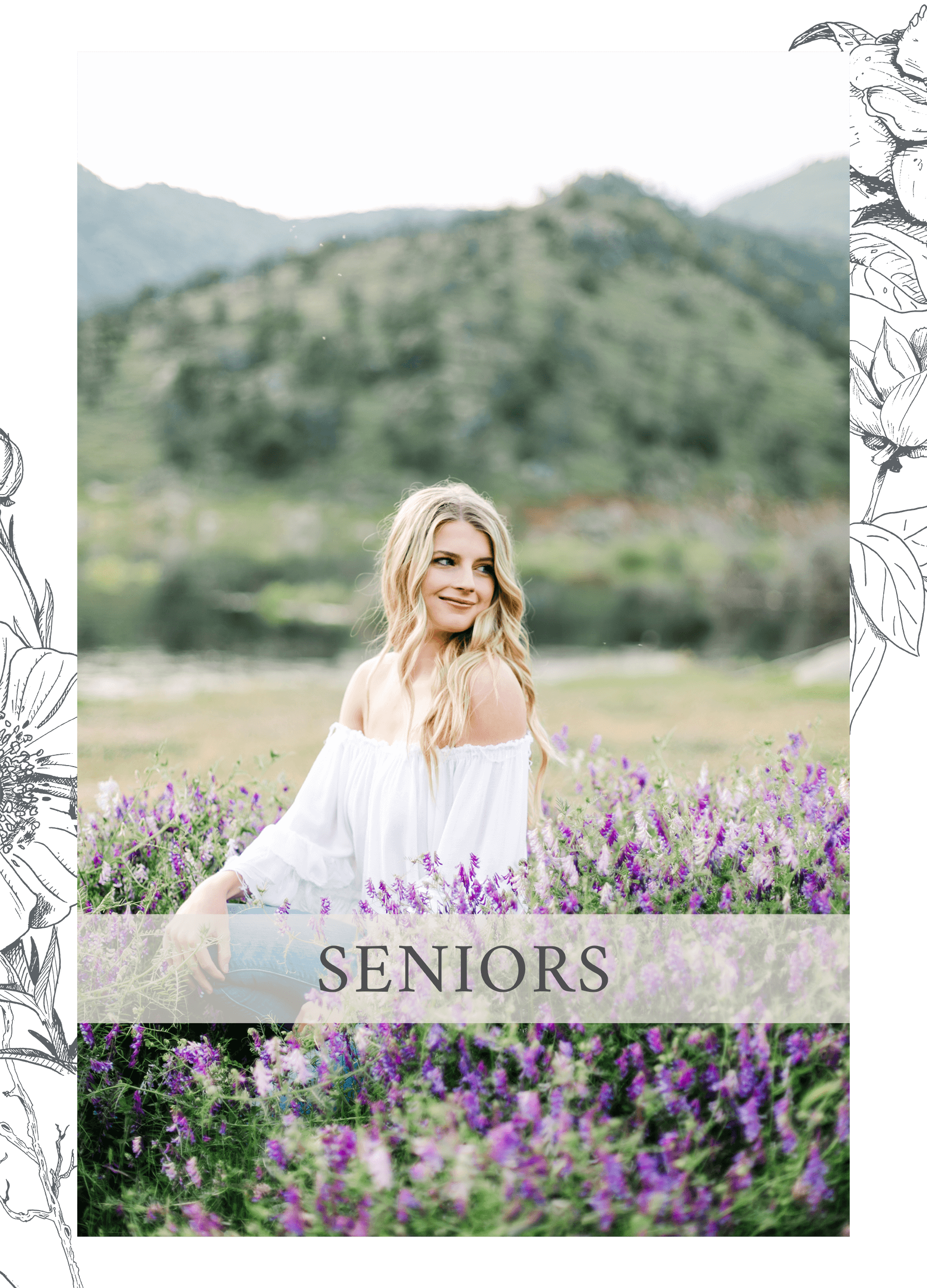 Kelli Avilia Photography Services Buttons Seniors