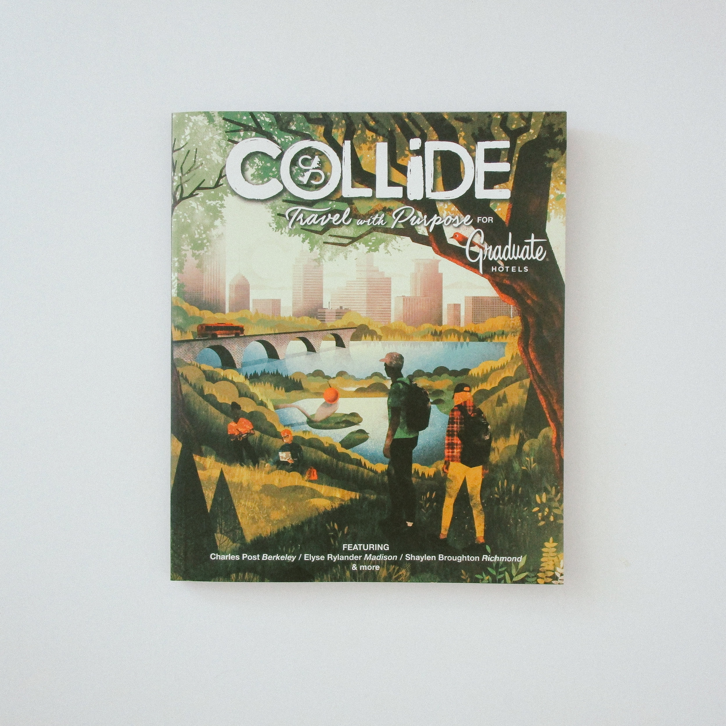 Editorial director for  Graduate Hotels Print Issue 02  Outdoor Edition