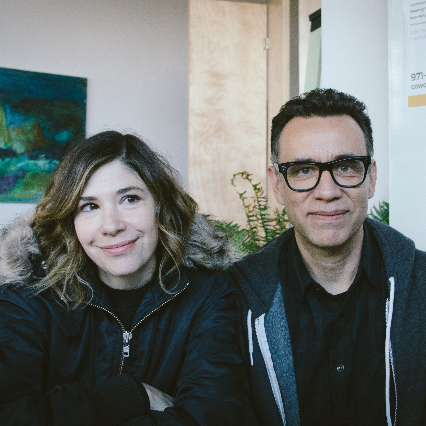 Interview with  Carrie Brownstein &  Fred Armisen