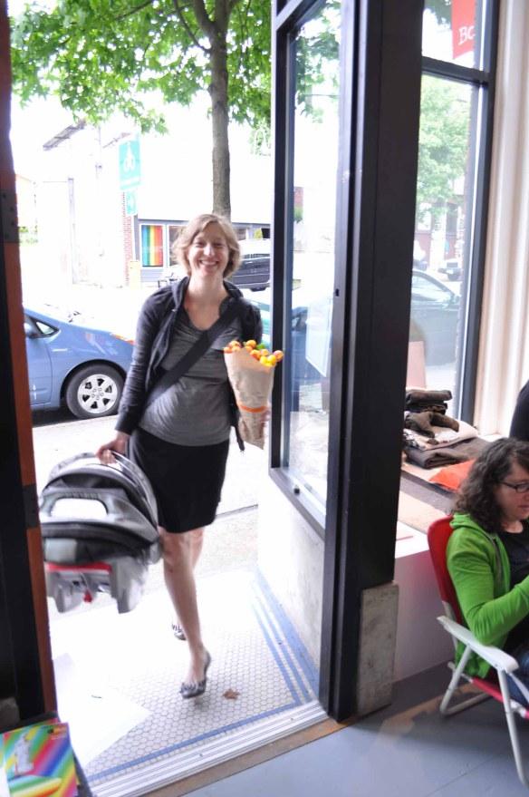 Jess opening doors