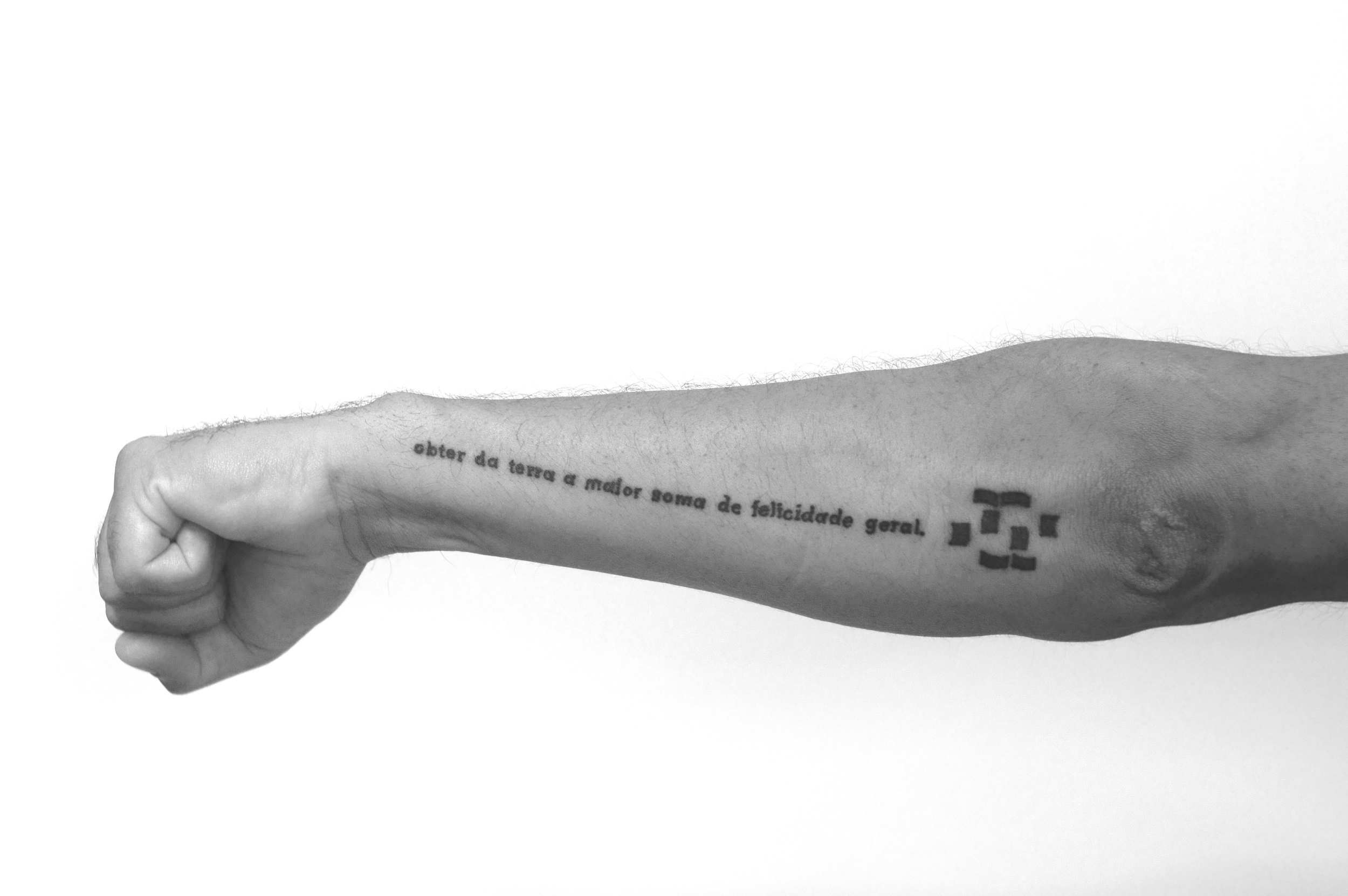 Juan Pablo Macías,  Tattoo , 2014 (Tattoo made by Ozmo)
