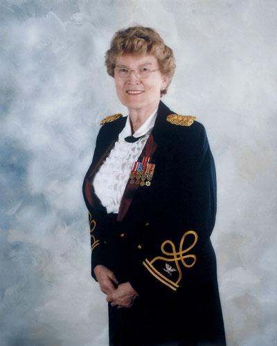 Margarethe Cammermeyer, Andreea Dragomir,National Portrait Gallery