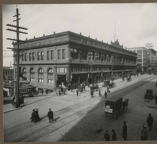 Rialto Building — Third Home of the Seattle Public Library ,  Seattle Historical Photograph Collection