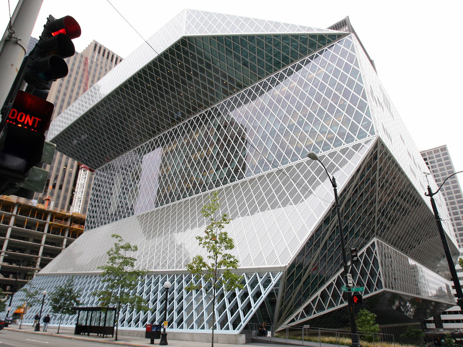 Central Library — Seattle Public Library ,  Condé Nast Traveler