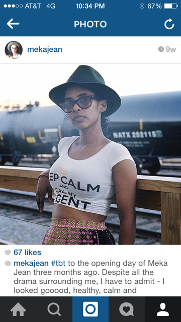 Keep Calm and Call My Agent