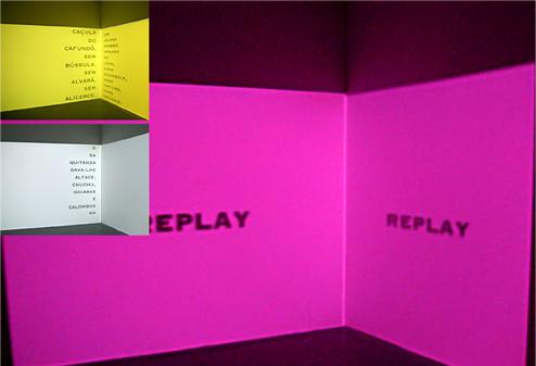 Room installation in Metz, France.