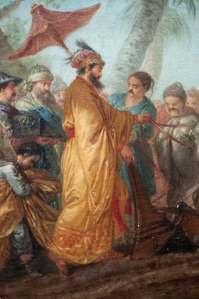 'Der Kaiser von China zieht die erst Furche zu Ehren des Ackerbaues,' Christian Bernhardt Rode, 1773