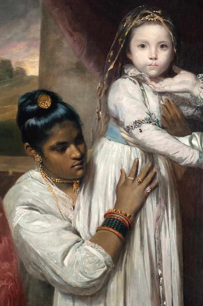'Georg Clive und seine Familie mir einer indischen Dienerin,' Sir Joshua Reynolds, 1765/66