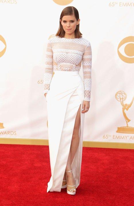 BEST DRESSED RUNNER-UP: Kate Mara in J. Mendel