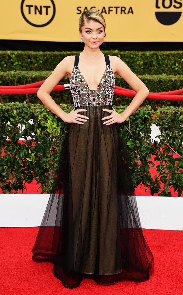 BEST DRESSED RUNNER-UP | Sarah Hyland