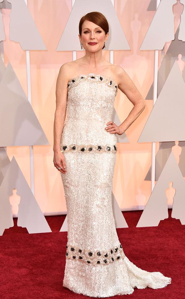 BEST DRESSED RUNNER UP   Julianne Moore in Chanel