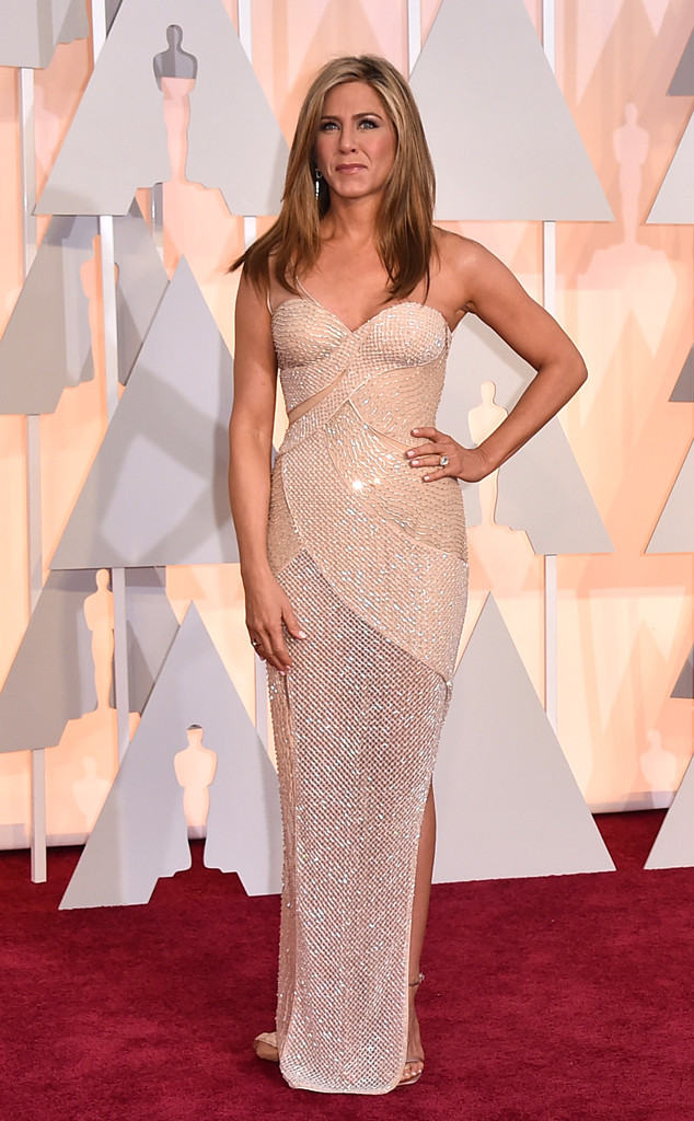 Jennifer Aniston in Versace