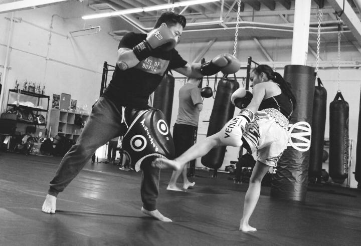 Muay Thai Training at Omni Movement.