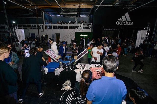 Here we go again! Join us tomorrow where we do it all over again @associationlosangeles @adidas