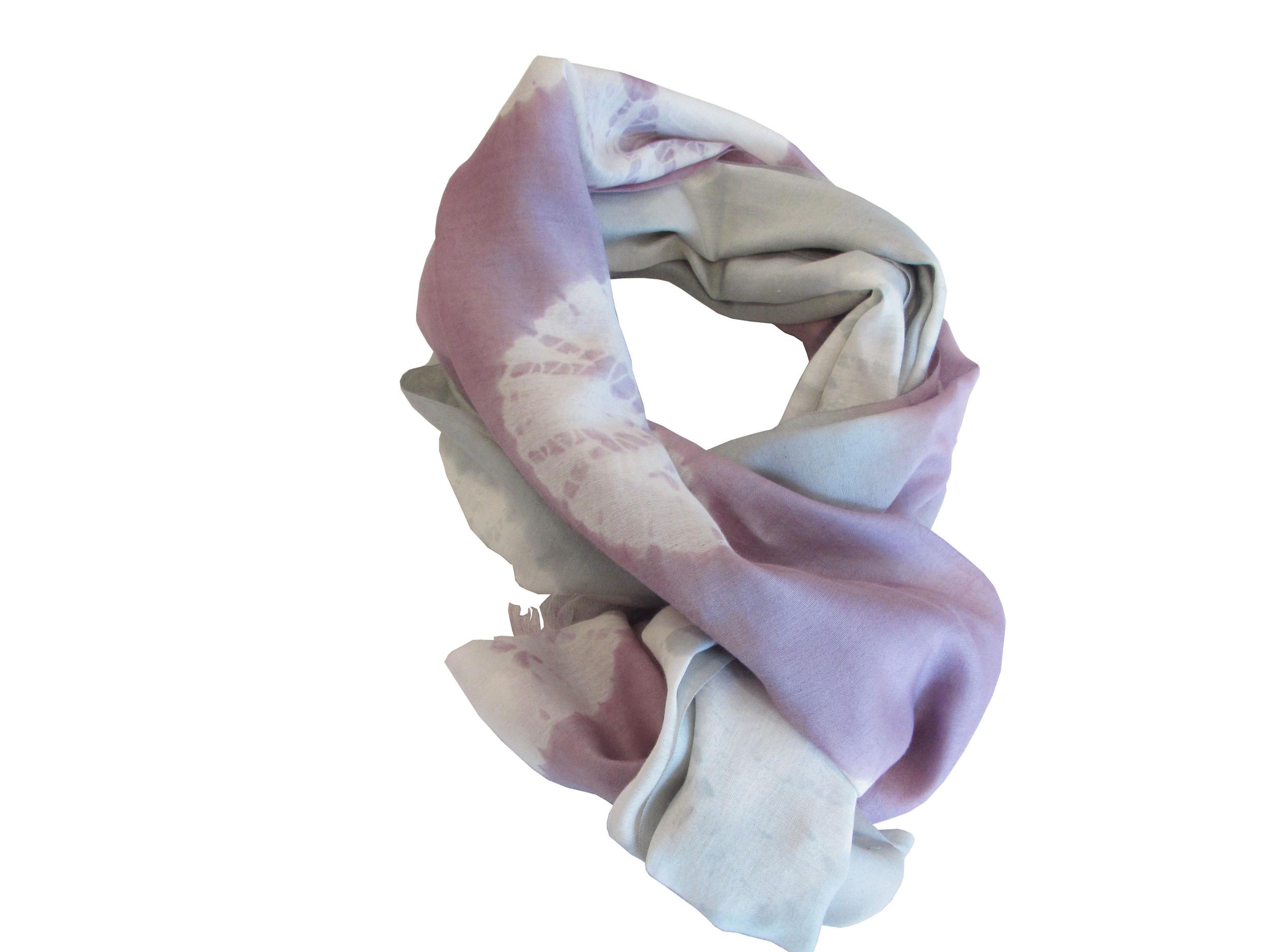 Lavender/grey tie-dye ombre, S-COTSL-T&D-10