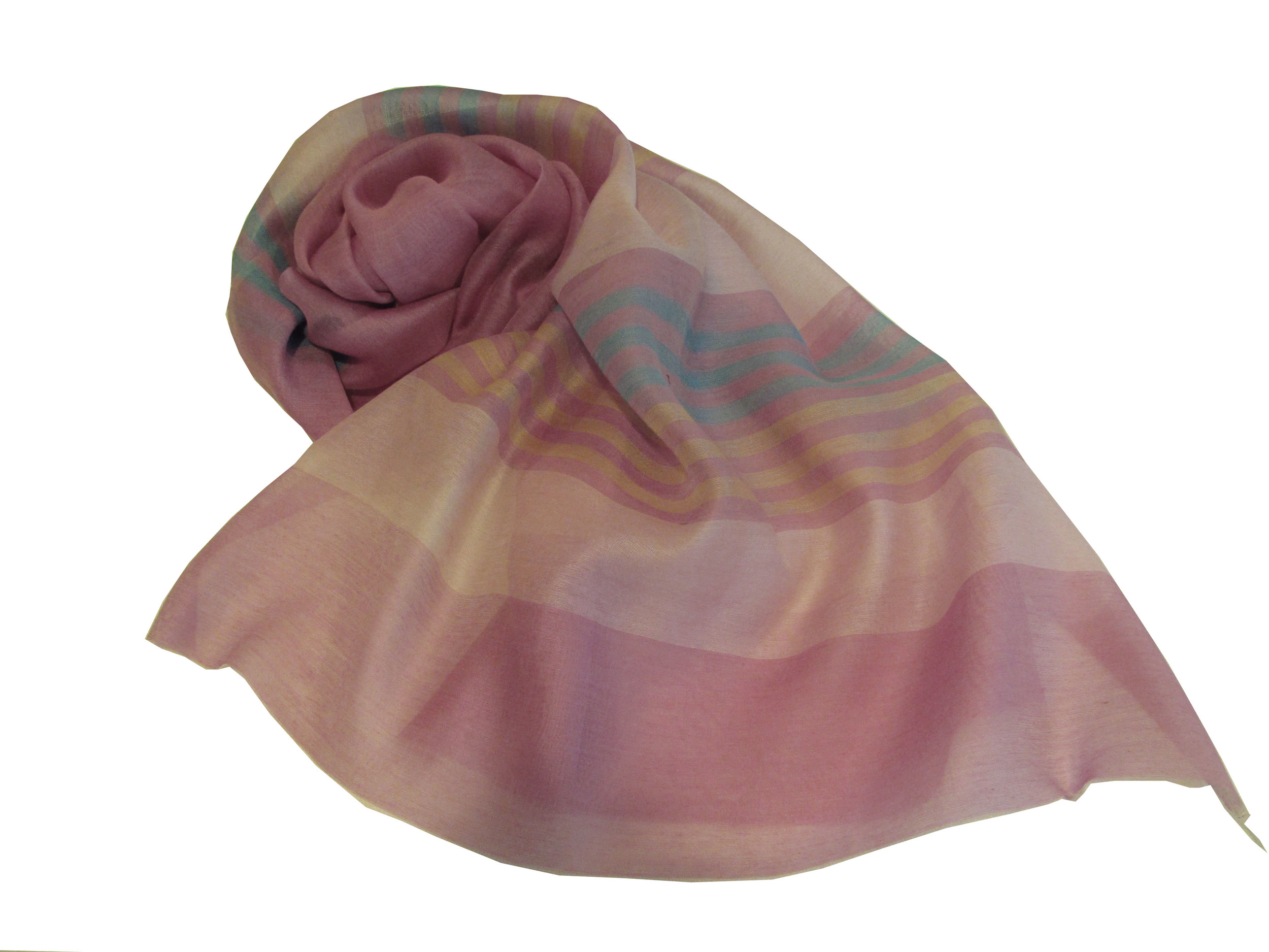 Multicolor stripes on pink, S-CSL-WV-09