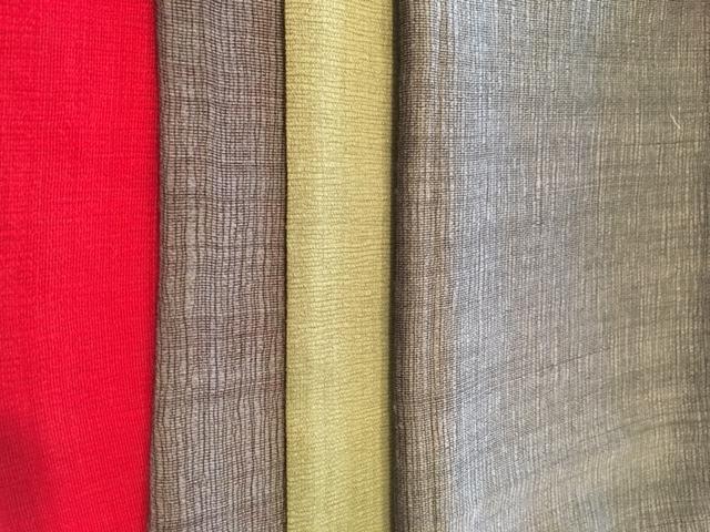Hand loom silk wool blend