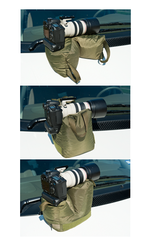 The V2 Molar Bean Bag™ provides a stable shooting platform in a variety of positions