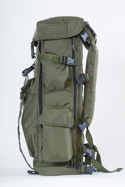 Displayed above is the side view of a 500mm Big Lens Bag™