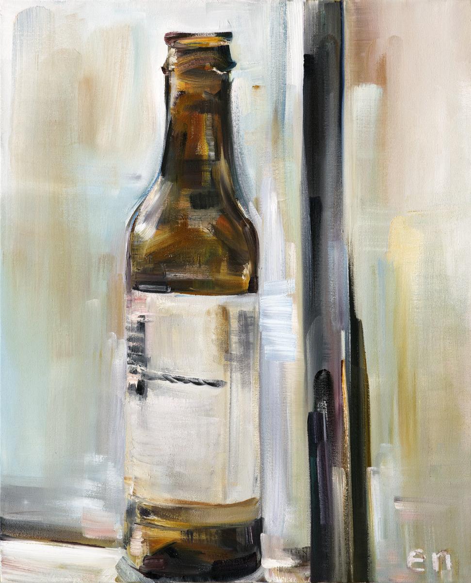 "Copper Alt   24"" x 30"" oil on canvas"