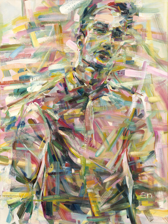 "Magazine  Oil on Canvas, 30"" x 40""  $2400"