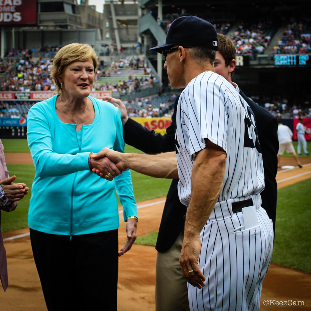 Pat Summit & Joe Girardi