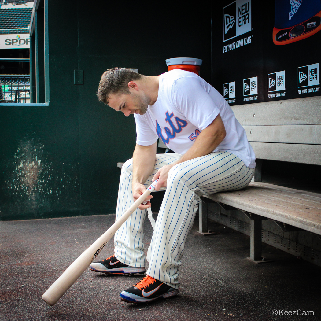 The Captain David Wright taping up the lumber for BP