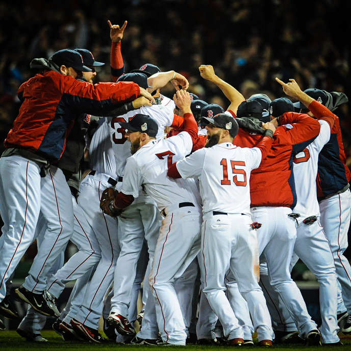 95 years since the last World Series Celebration at Fenway Park