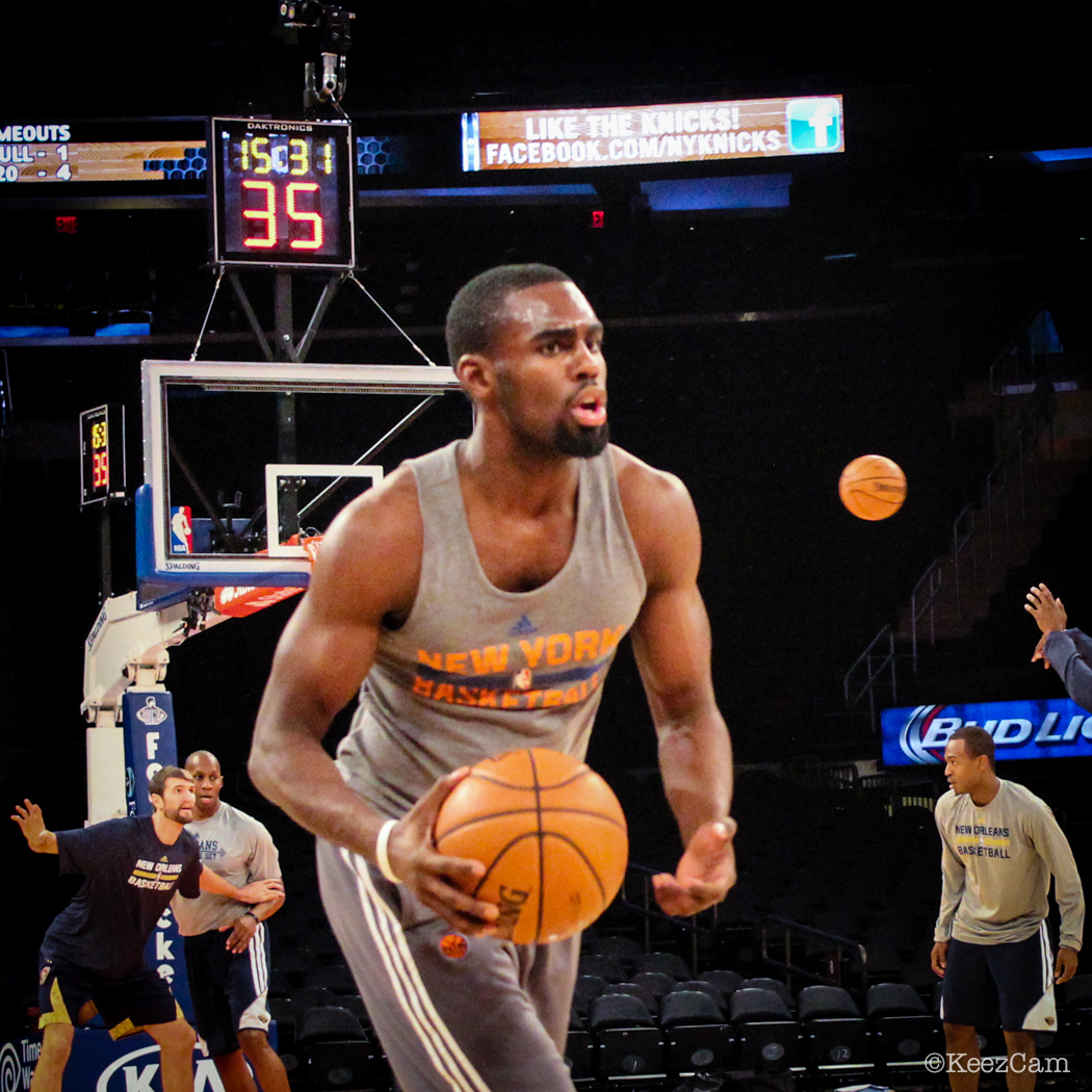 New York Knicks Rookie Guard Tim Hardaway Jr. had MSG buzzing tonight vs. New Orleans