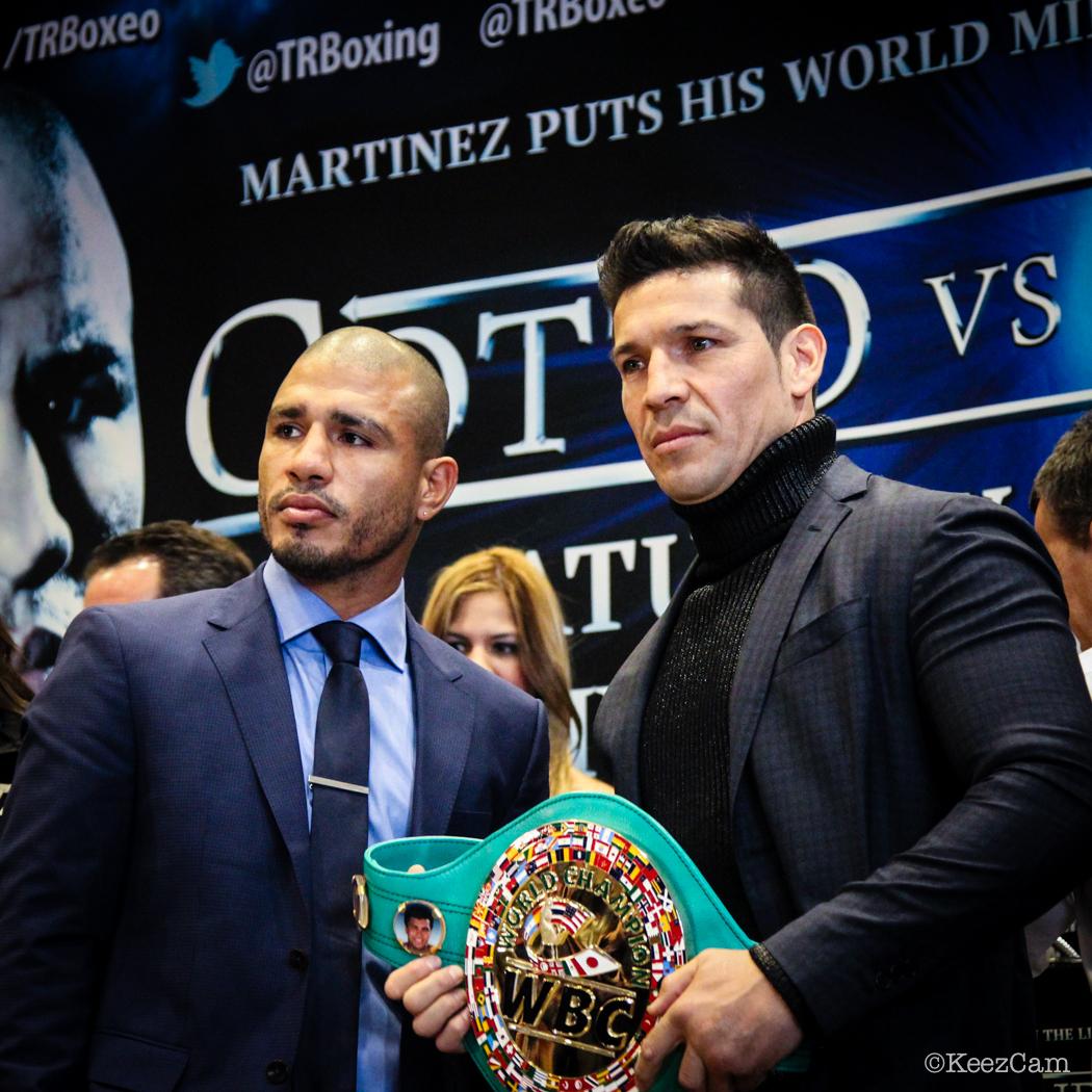 Miguel Cotto & Sergio Martinez