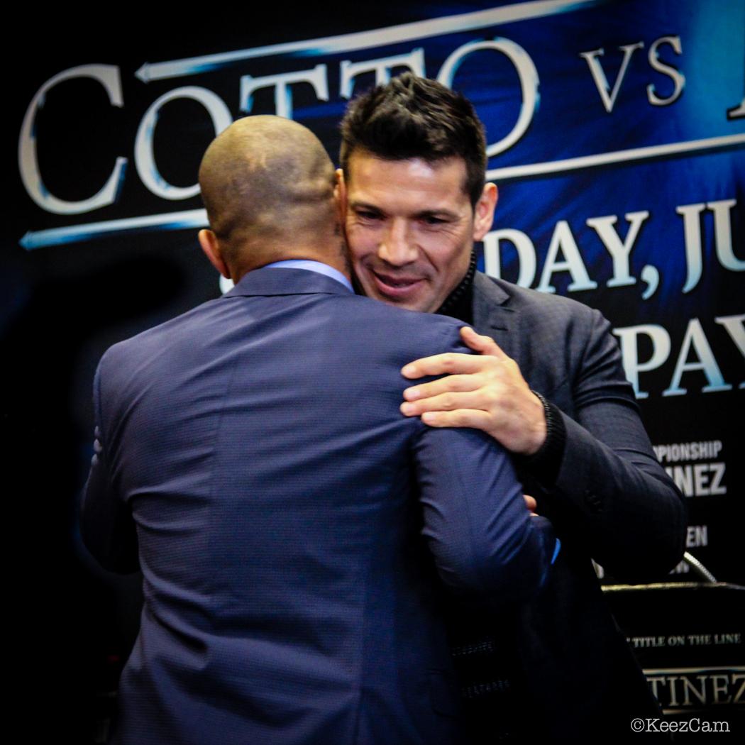 """Miguel Cotto & Sergio """"Maravilla"""" Martinez"""