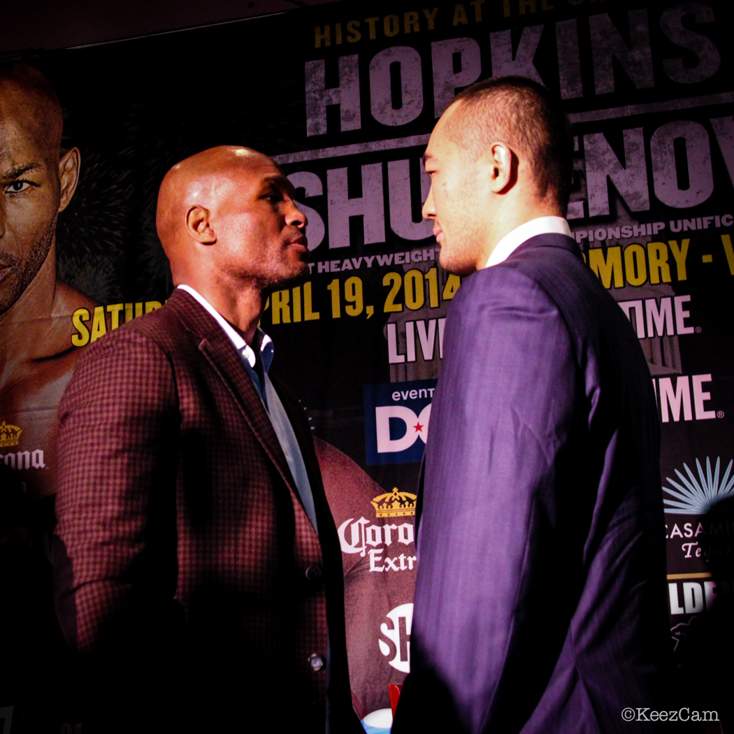 Bernard Hopkins vs. Beibut Shumenov