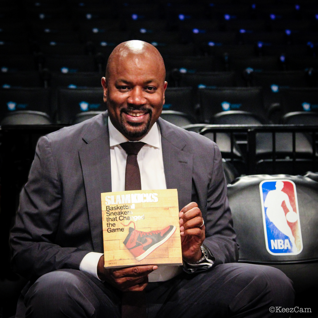 Brooklyn Nets GM Billy King knows about the Basketball Sneakers that changed the game.