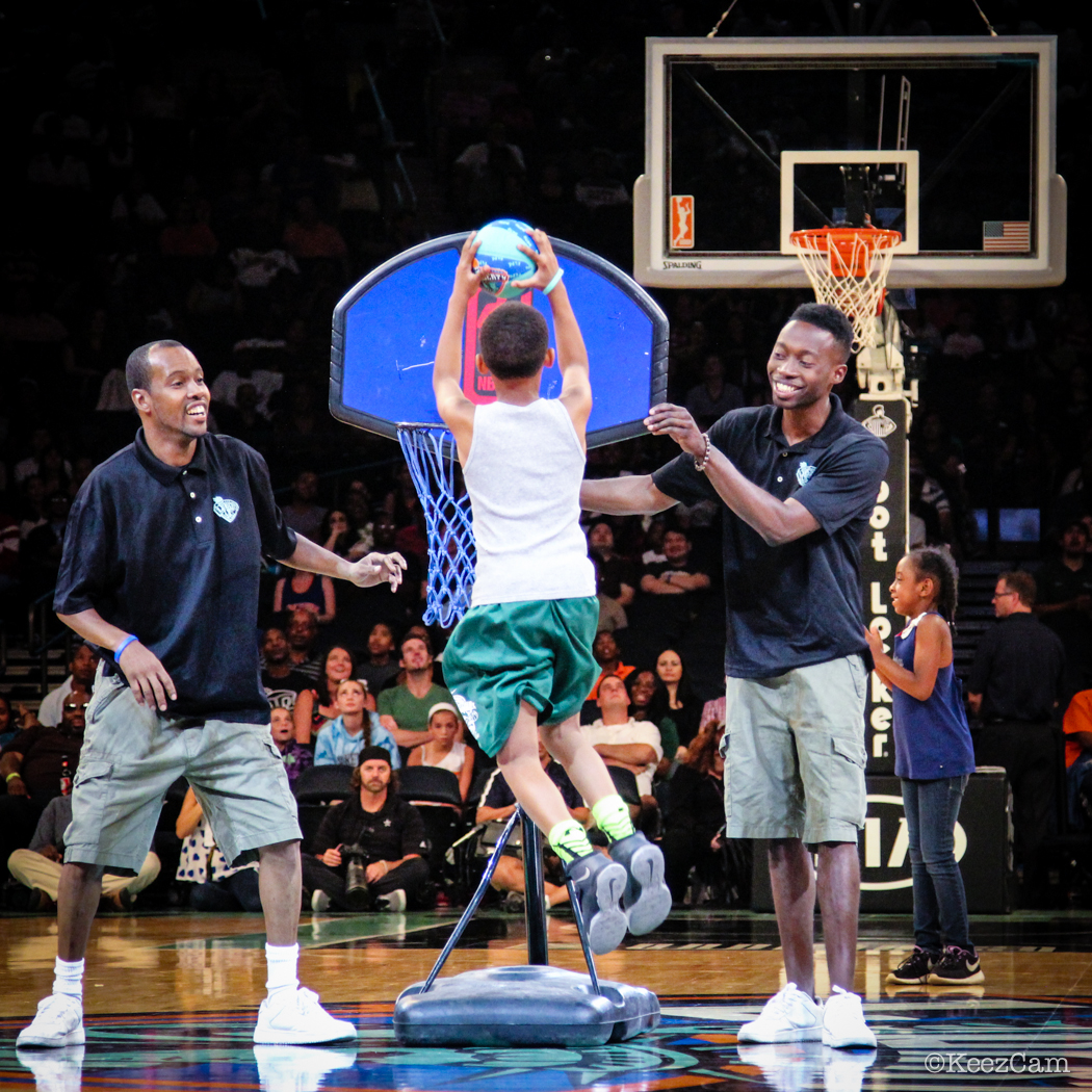 Above the Rim at Madison Square Garden